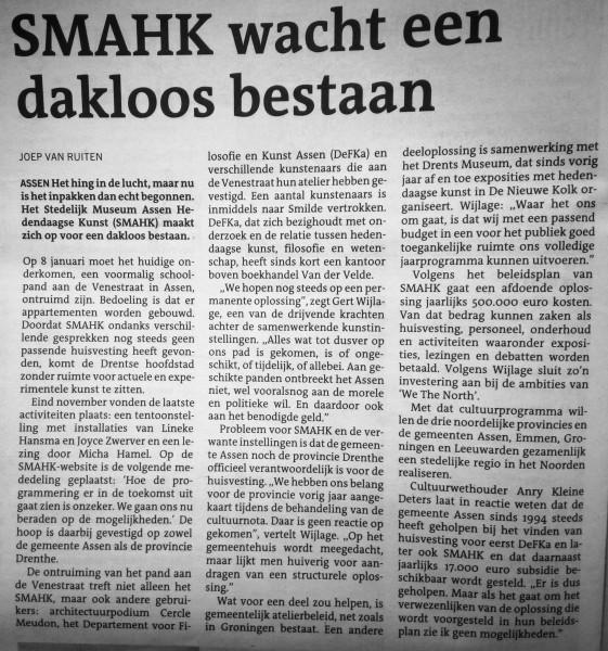 Dagblad van het Noorden 6 december 2017